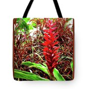 Maui Tropical Floral Tote Bag