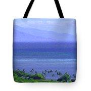 Maui View Tote Bag