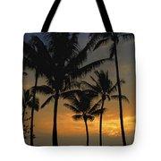 Mauna Loa Sunset - Big Island Hawaii Tote Bag