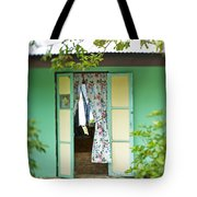 Maupiti Doorway Tote Bag