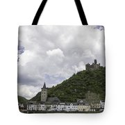 Maus Castle And The Village Of Wellmich Tote Bag
