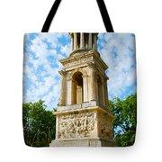 Mausoleum Of The Julii - Glanum Roman Ruins Tote Bag