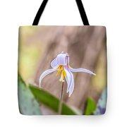 Mauve Trout Lily Tote Bag