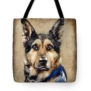 Max The Military Dog Tote Bag