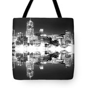 Maxed Cityscape Tote Bag