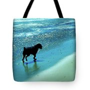 Maxwell On The Beach Tote Bag
