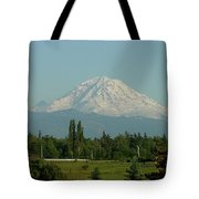 May Mt. Rainier Tote Bag