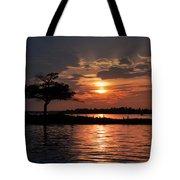 May Sunset At Detroit Point Tote Bag