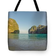 Maya Bay Sunrise Tote Bag