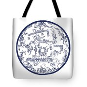 Mayan Cosmos Tote Bag by Science Source