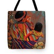 Mayan Family Tote Bag