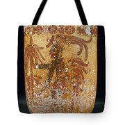Mayan Priest 700-900 Ad Tote Bag