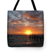 Mayan Riviera Sunrise Tote Bag
