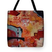 Mayan Shaman Tote Bag