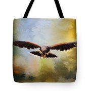 Maybe - Hawk Art Tote Bag