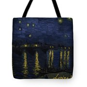 Maybe We Can Take Death To Go To A Star? Tote Bag