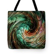 Mayhem Swirl Behind The Safety Net Catus 1 No. 1 H A Tote Bag
