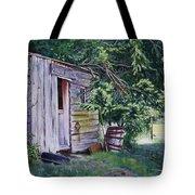 Mayne Island Sawmill Tote Bag