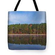 Mayor's Pond, Autumn, #3 Tote Bag