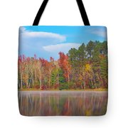 Mayor's Pond, Autumn, #4 Tote Bag