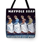 Maypole Soap Retro Vintage Ad 1890's Tote Bag