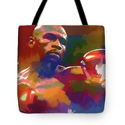 Mayweather Watercolor Tote Bag