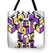 Maze Build 1 Tote Bag