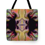Maze Of Colors Tote Bag