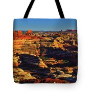 Maze Overlook Tote Bag by Greg Norrell