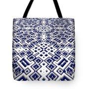 Maze Pattern Tote Bag