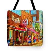 Mazurka Cafe Tote Bag
