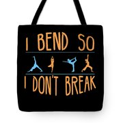 Mb 1142 Fitness Bend Dont Break 500 Tote Bag