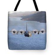 Mc-130h Combat Talon II Over Loch Ness Tote Bag