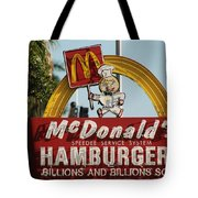 Mc Donalds Tote Bag