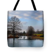 Mcbride Arboretum Winter Morning Tote Bag