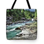 Mcdonald Creek 2 Tote Bag