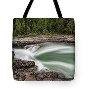 Mcdonald Creek Tote Bag
