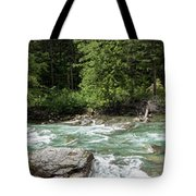 Mcdonald Creek Panorama Tote Bag