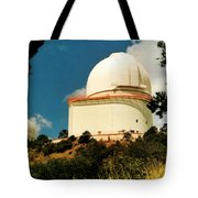 Mcdonald Observatory At Mt. Locke Tote Bag