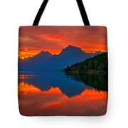 Mcdonald Sunrise Tote Bag by Greg Norrell