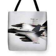 Mcdonnell Douglas F/a-18 Hornet Tote Bag