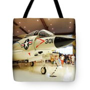 Mcdonnell F3h Demon Tote Bag
