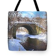 Mcgowan Bridge Tote Bag
