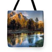 Mcgown Peak Sunrise  Tote Bag