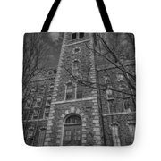 Mcgraw Hall - Bw Tote Bag