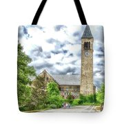 Mcgraw Tower Cornell University Ithaca New York Pa 10 Tote Bag
