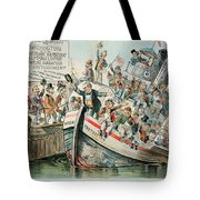 Mckinley Cartoon, 1896 Tote Bag