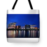 Mclane Stadium Evening Tote Bag