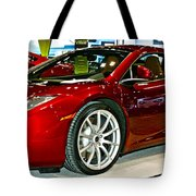 Mclaren 12c Spider Number 1 Tote Bag