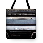 Mclaren 12c Spider Rear Emblem -0106ac Tote Bag